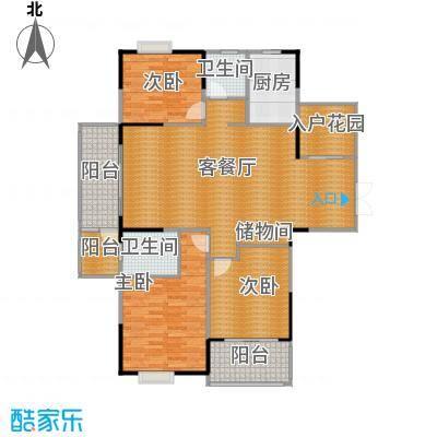 江雁mini格调148.00㎡C-1型户型10室