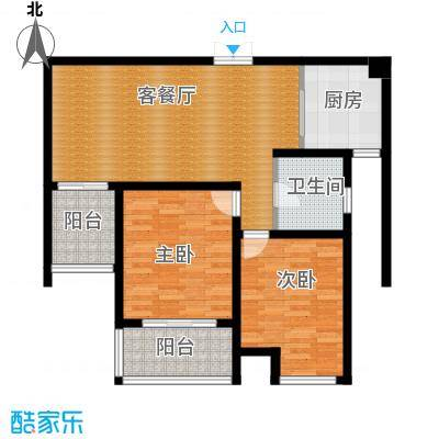 江雁mini格调89.00㎡F-3户型10室