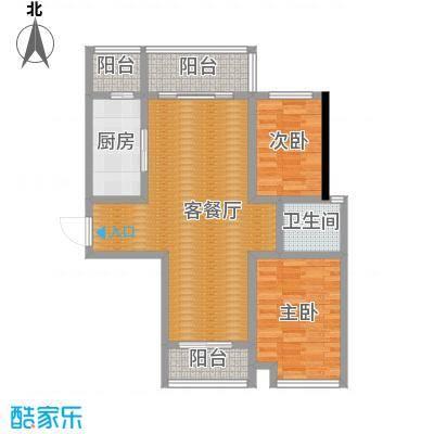 长江峰景115.00㎡05栋C户型10室