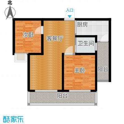 长江峰景97.00㎡03栋B户型10室
