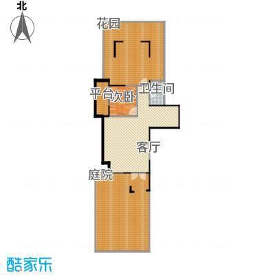龙湖香醍国际社区135.98㎡A1负一层平面户型10室