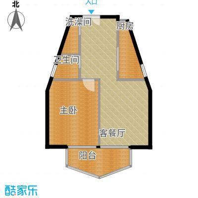 郑和国际广场53.82㎡04栋5-32层-L套型户型10室