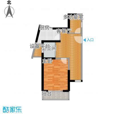 郑和国际广场56.89㎡01栋-6层-C-1套型户型10室