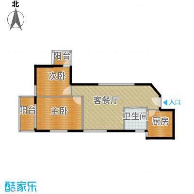 郑和国际广场75.25㎡04栋5-32层-H套型户型10室