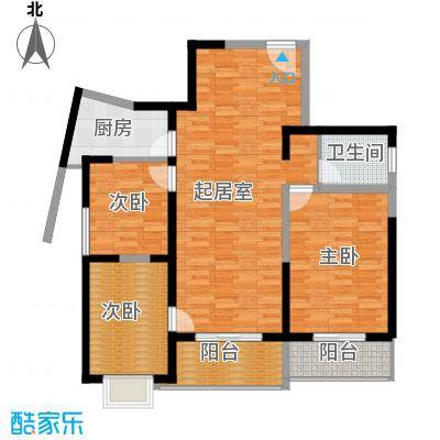 郑和国际广场99.52㎡02-03栋30-31层b2-3套型户型10室
