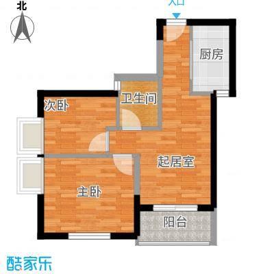 郑和国际广场48.30㎡04栋5-31层-K1-1套型户型10室