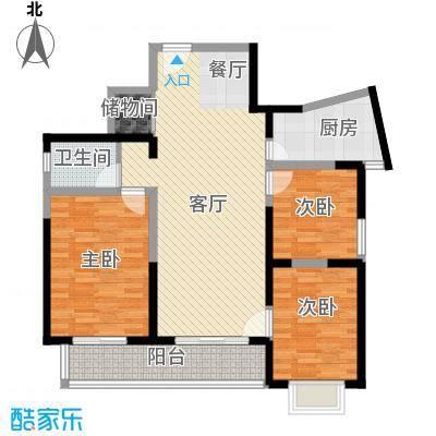 郑和国际广场99.45㎡02-03栋6-28-B1-1套型户型10室