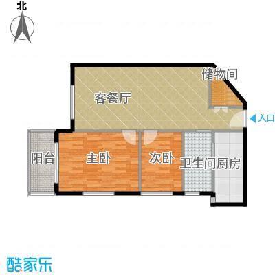 郑和国际广场73.72㎡04栋5-32层-J套型户型10室