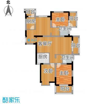 武夷绿洲86.46㎡--27户型10室