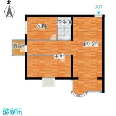 宝融上元府邸81.90㎡户型10室