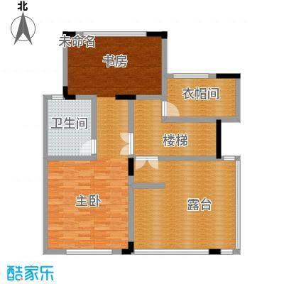 凤凰山庄270.00㎡B叠加别墅五层平面户型6室2厅3卫