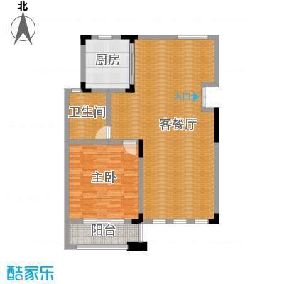 凤凰山庄270.00㎡B叠加别墅三层平面户型6室2厅3卫