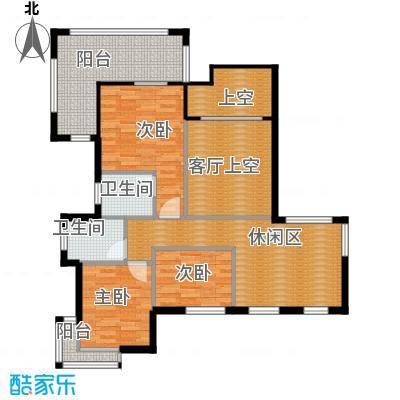 凤凰水城御河湾184.00㎡TG-1a17F户型10室