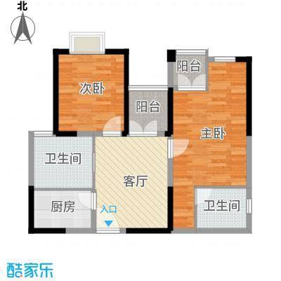 东方国际广场61.30㎡户型10室