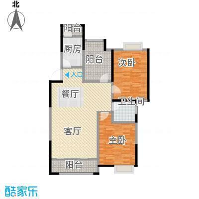 金地名京119.00㎡F户型3室2厅1卫
