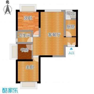 嘉逸岭湾65.28㎡户型10室
