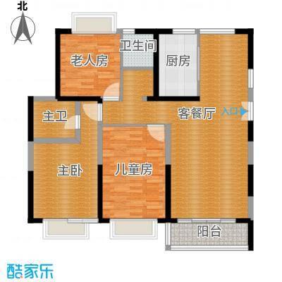 嘉逸岭湾108.33㎡户型10室