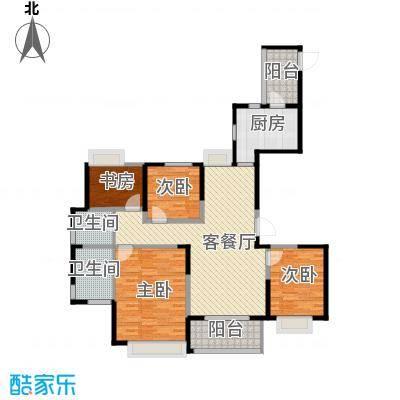 金地东城御院139.00㎡高层A户型10室