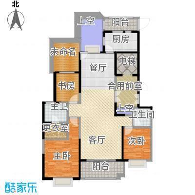 华城花园139.00㎡B户型10室