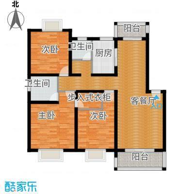 金泉泰来苑110.00㎡128m2户型10室
