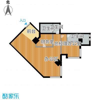 中天世都137.42㎡A区6户公寓03户型3卫