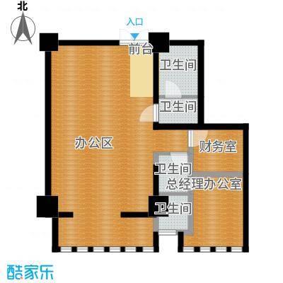 中天世都114.10㎡A区6户公寓05户型4卫