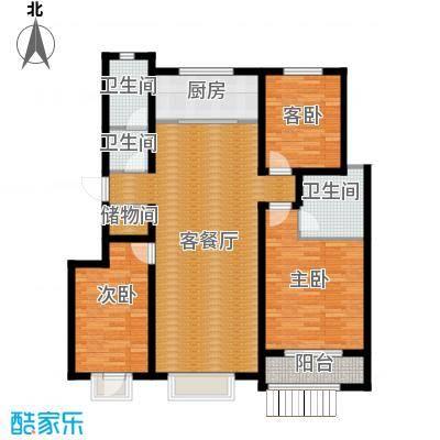 心海湾二期121.45㎡2#-C户型10室