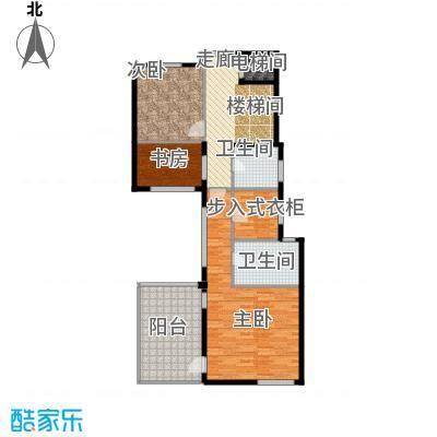 宏图上水庭院93.54㎡Dd四层户型10室
