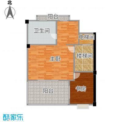 宏图上水庭院67.41㎡联排H-A3三层户型10室