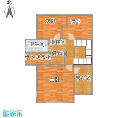柏悦澜庭92.00㎡别墅G2二层户型10室