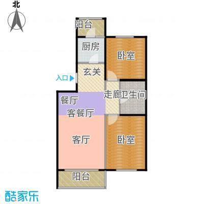 阳光尚城D3户型1厅1卫1厨