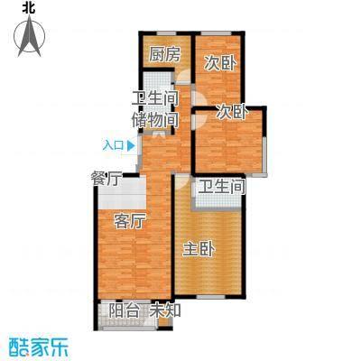 世代龙泽湾130.00㎡17#18#E户型10室
