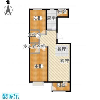 世代龙泽湾110.00㎡17#18#D户型10室