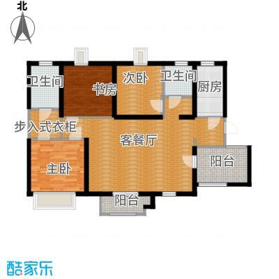 天山熙湖121.00㎡10、16号楼高层户型3室2厅2卫