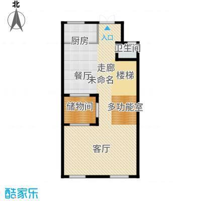 御江金城103.16㎡K1一层户型10室