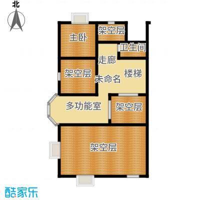 御江金城61.31㎡K2型二层户型10室