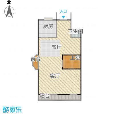 御江金城122.26㎡K2型一层户型10室