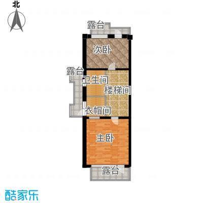 水墨丹青砚池92.03㎡三层A户型2室1卫