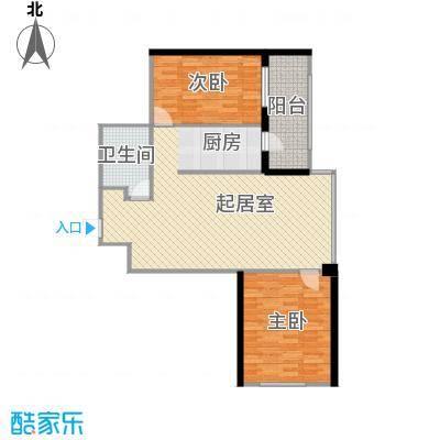 悦山国际68.68㎡户型10室