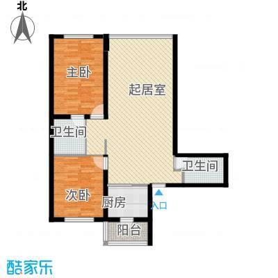 悦山国际76.69㎡户型10室