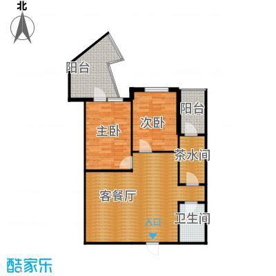 美联大厦111.16㎡A1户型2室2厅1卫