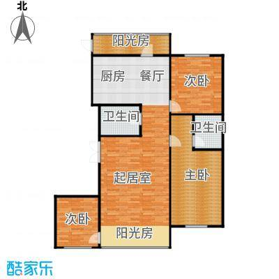 悦山国际106.07㎡户型10室
