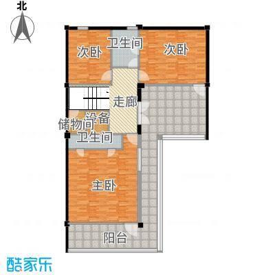 莫干山观云庄园515.00㎡T1二层户型10室