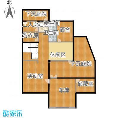 莫干山观云庄园515.00㎡T1地下室户型10室