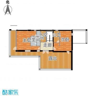 莫干山观云庄园518.00㎡T2二层户型10室