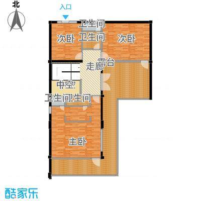 莫干山观云庄园474.00㎡F1二层户型10室
