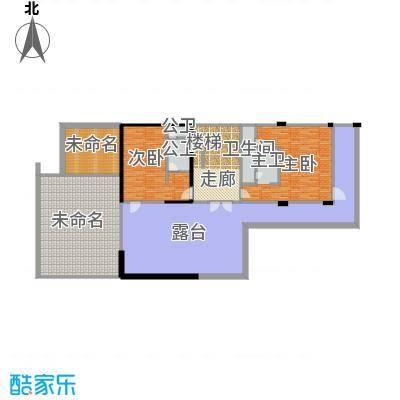 莫干山观云庄园467.00㎡F2二层户型10室