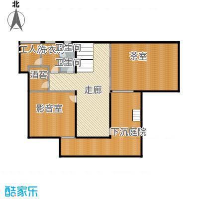 莫干山观云庄园467.00㎡F2地下层户型10室