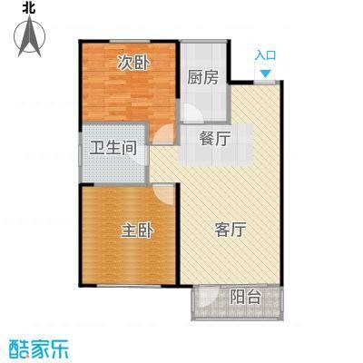 纳帕名门87.72㎡户型10室