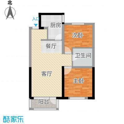 纳帕名门92.56㎡户型10室